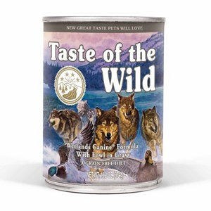 taste of the wild perros wetlands 12 latas 13.2oz