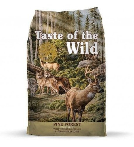 taste of the wild  pine forest  14 lb perros adultos