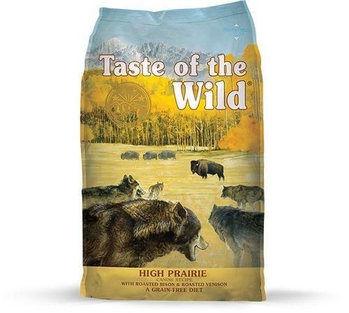 taste of the wild praire -bisonte- x 5lb