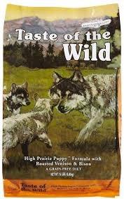 taste of the wild prairie puppy (bisonte-siervo) x 6.3kg