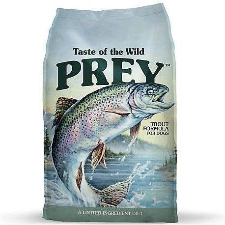 taste of the wild prey trout truch perros adultos 8lb nuevo