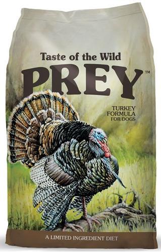 taste of the wild prey turkey pavo perros adultos 25lb nuevo