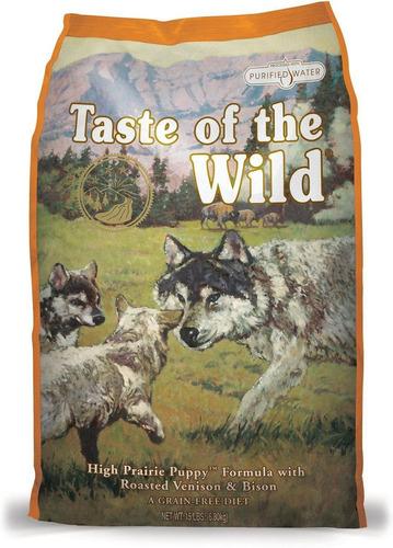 taste of the wild puppy bisonte 14lb + env gratis