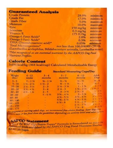 taste of the wild puppy bisonte 28 lbs + obsequio + env grat