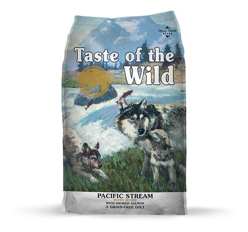 taste of the wild puppy pacific stream cachorros salmon 14lb
