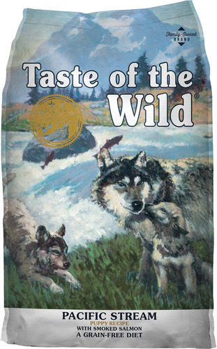 taste of the wild puppy salmón 14lbs + envio grat