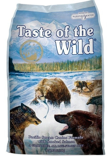taste of the wild salmón 28lb +pelot - kg a $19214