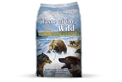 taste of the wild - salmón ahumado - adultos - 2 kg