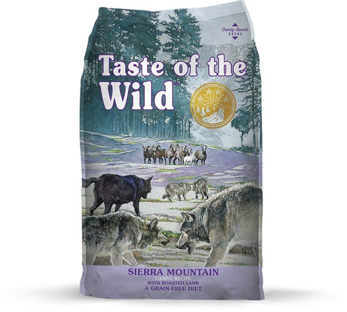 taste of the wild sierra -cordero- x 5lb