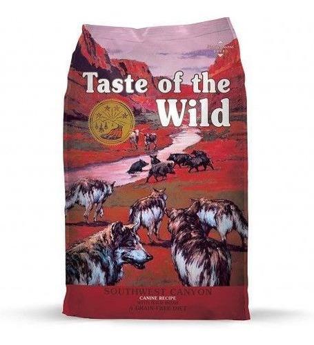 taste of the wild southwest canyon 28 lb perros adultos