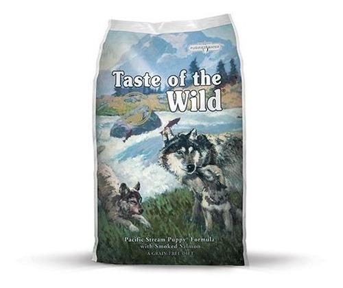taste of the wild  stream puppy  cachorro salmon ahum 15kg%