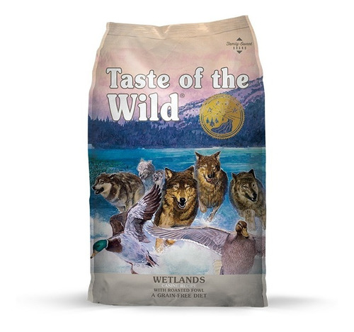 taste of the wild wetland -pato- x 28lb
