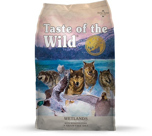 taste of the wild wetland -pato- x 5lb