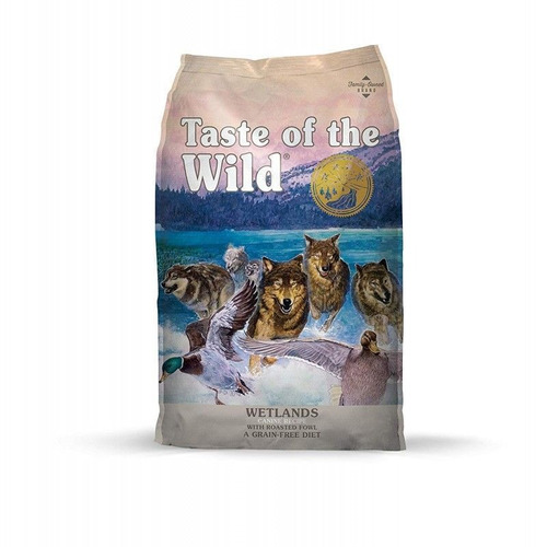 taste of the wild wetlands adultos pato codorniz 1 kg
