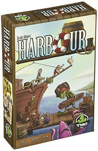Tasty Minstrel Games Harbor Juego Mesa 94 900 En Mercado Libre
