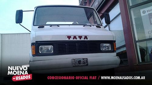 tata 609 1997 con plato de enganche blanco