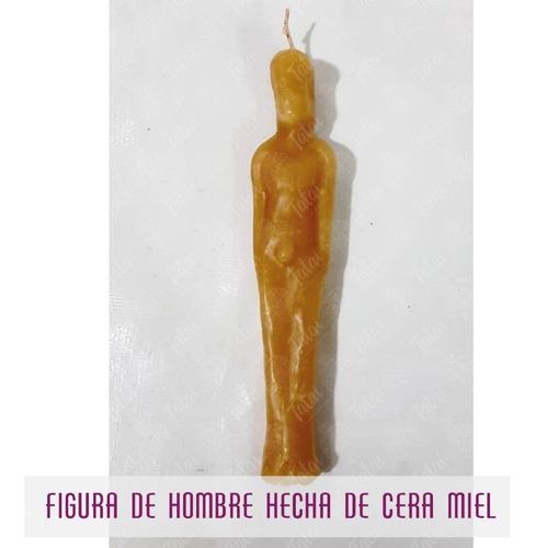 tatai tienda   1 figura de hombre hecha de cera de miel