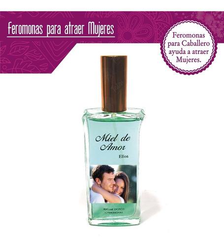 tatai tienda | feromonas perfume miel de amor caballero 60ml
