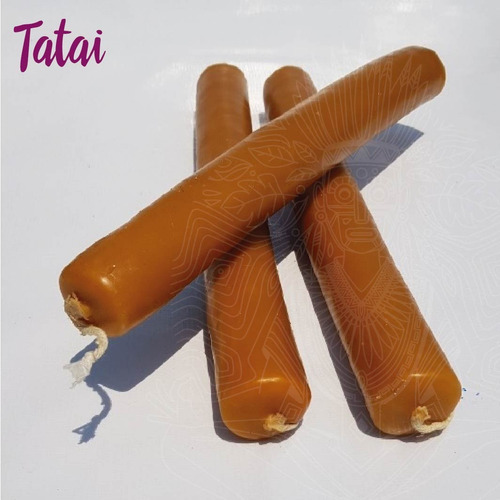 tatai tienda | oferta 1 cirio de cera miel 30cm /de 105 a 95