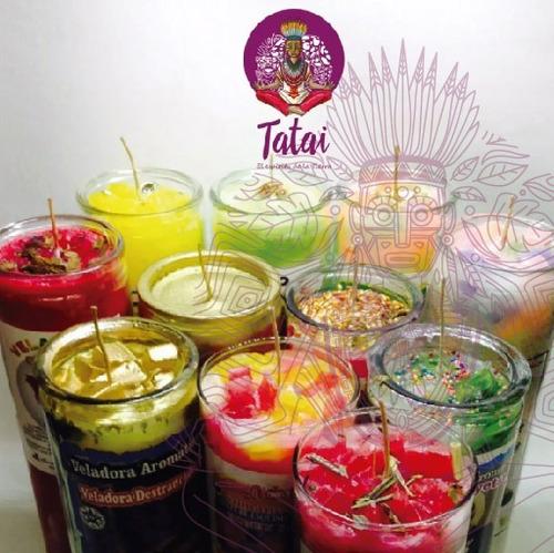 tatai tienda |  veladora de aroma 1 caja c/20pzs