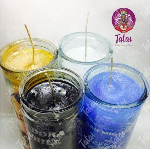 tatai tienda |  veladora de parafina 1caja c/20 pzs