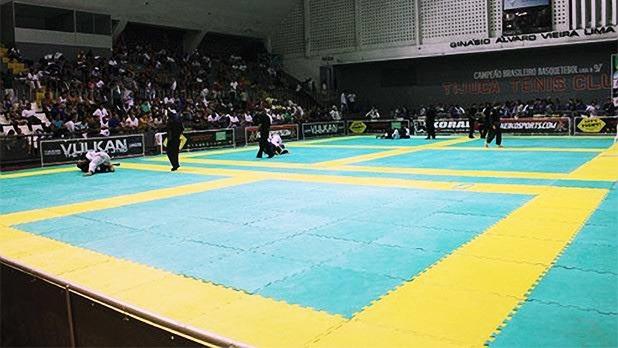 Tatame Eva 20mm 1x1 Tapete Academia Jiu Jitsu Mma Luta