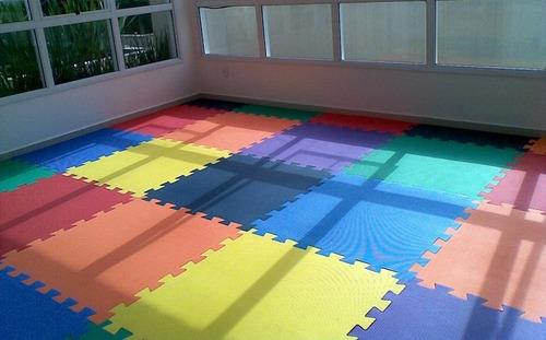 tatame tapete eva encaixe borracha 100x100x1cm 1x1 metro