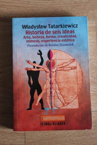 tatarkiewicz historia de seis ideas arte forma estetica