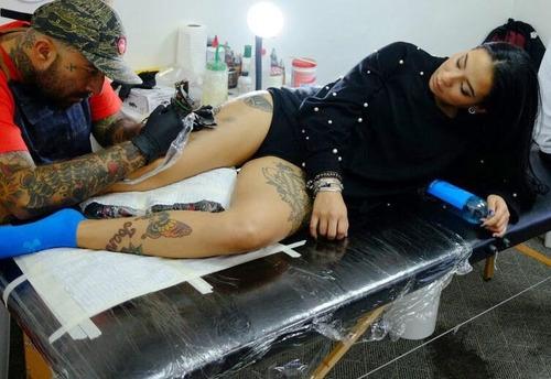 tattoo campos trabajo descartables colores x 200 unid tatuar