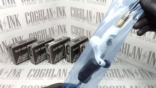 tattoo cubre clipcord máquina azulxl cajax100 tatuaje tatuar