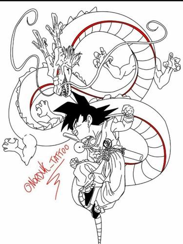 tattoo dragon ball