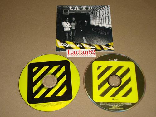 tatu dangerous and moving 2005 universal cd + dvd