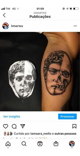 tatuador  trabalho com tattoo ,para contato chamar no whats