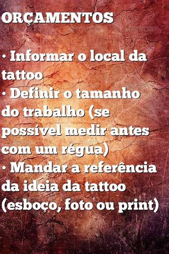 tatuagem a domicílio - promoção de primeiros agendamentos
