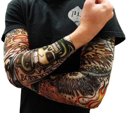 tatuagem fake tattoo/ sleeve queima total black friday