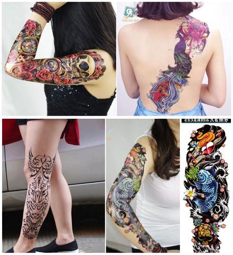 tatuagem super grande feminina para braço ou perna !
