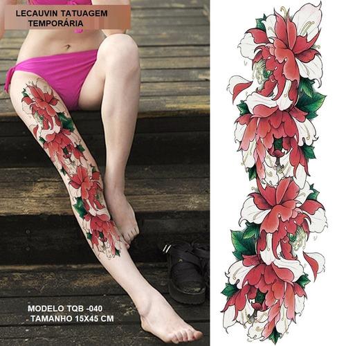 tatuagem super grande para braço ou perna ! novas 2018