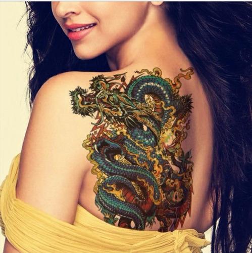 tatuagem temporária * fake tattoo - frete grátis ref914