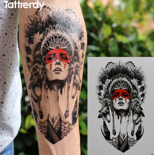 tatuagem temporária índia frete grátis