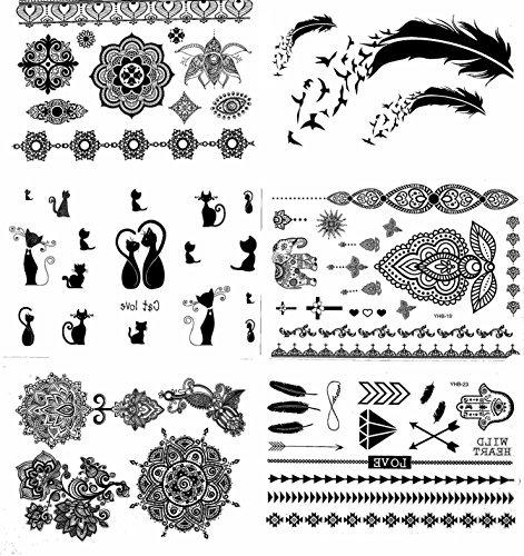 Tatuajes De Henna Dibujos. Great Henna Para Mujeres Henna Tatuaje ...