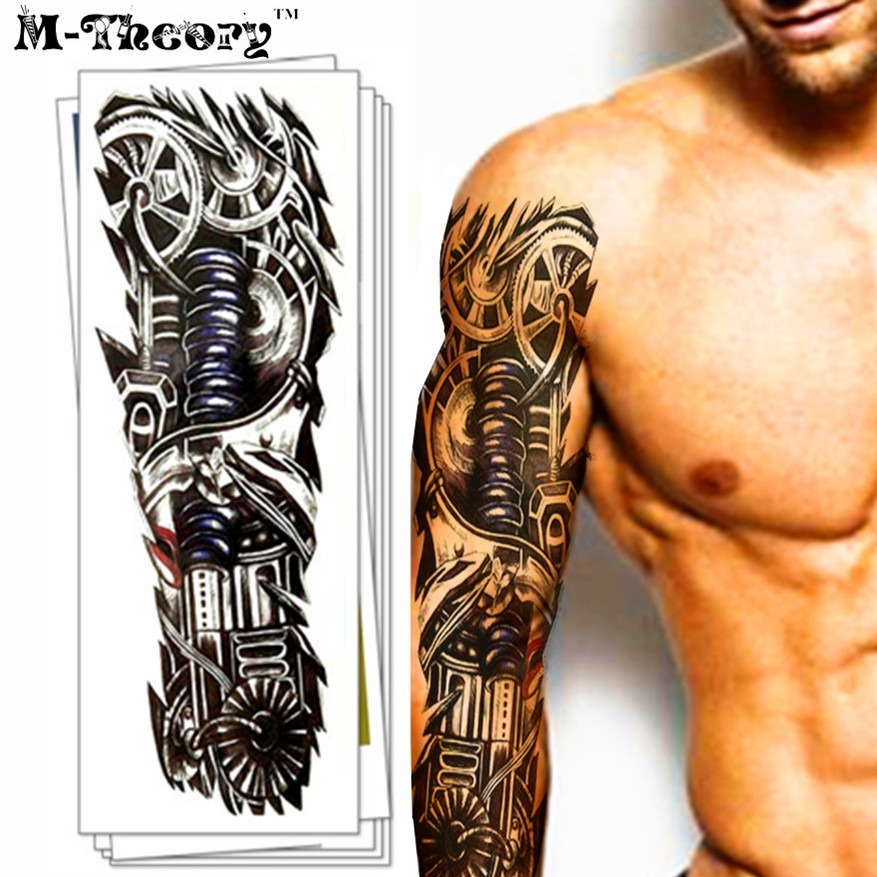 Tatuaje Temporal Antebrazo De Metal S 1750 En Mercado Libre
