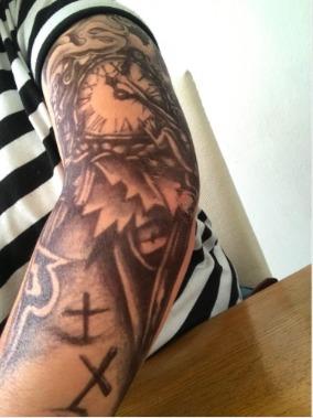Tatuaje Temporal Tattoo Para Todo El Brazo 15000 En Mercado Libre