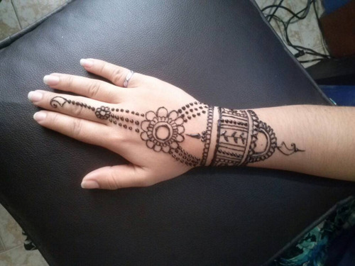 tatuajes de henna (mehndi)