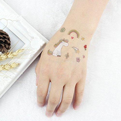 Tatuajes De Unicornio Para Ninos 12 Hojas Ninos Tatuajes 94 900