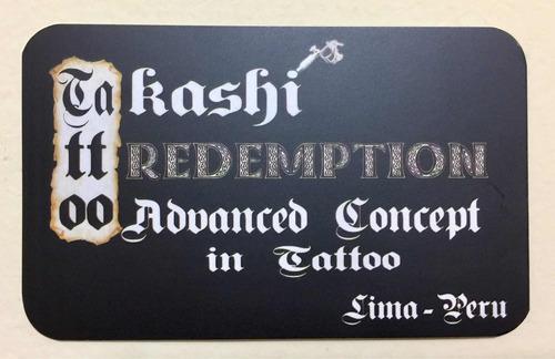 tatuajes takashi tattoo redemption (in lima - peru)