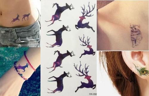 tatuajes temporales 3d
