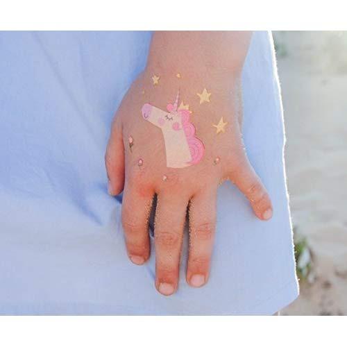 Tatuajes Temporales De Unicornio Para Ninas 32 Tatuajes