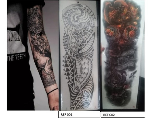 tatuajes temporales durables modelo 2