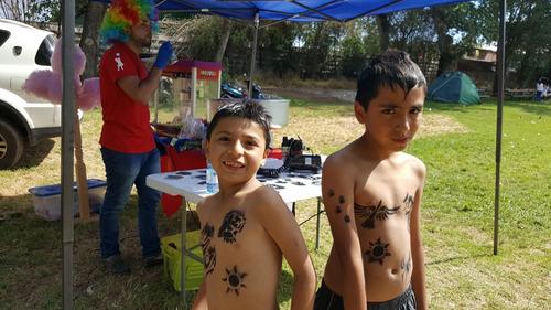 tatuajes temporales para fiestas y cumpleaños, tipo stencil