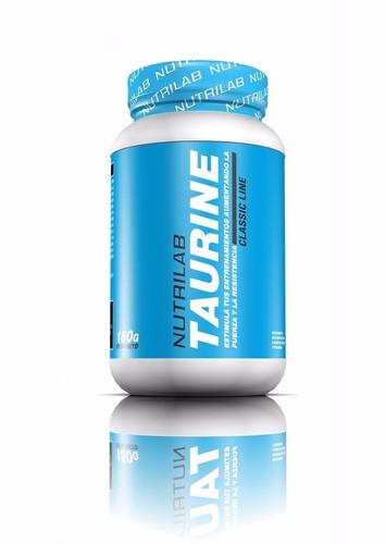 taurina 150 gr nutrilab estimula fuerza  resistencia